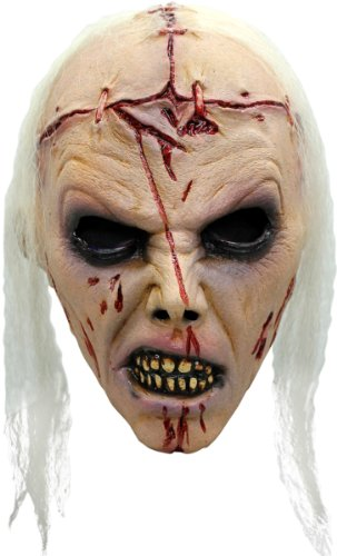 Máscara zombie loco adulto - Única