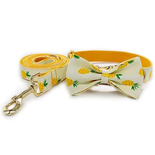 ZZCR Collar De Perro Mascota Collar Suave De Poliéster Collar Retráctil De Varios Tamaños Conjunto De Collar De Cuerda De Tracción A S