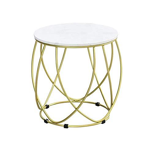 XLEVE Piccola Tavola Rotonda Tea Lron Semplice Creativa Moderna Divano Tavolino Soggiorno Piccoli Bagagli Tavolino