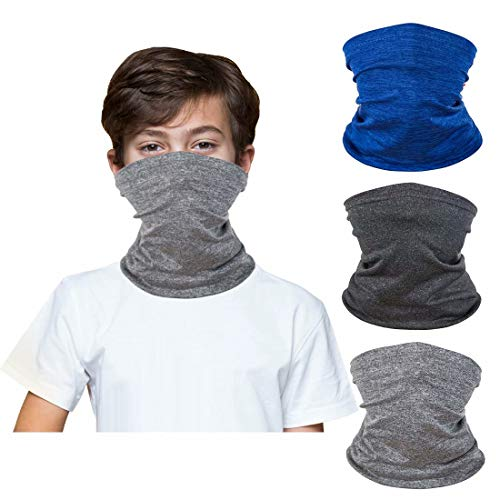 Double-Deck 3 in 1 Multifunction Outdoor Cycling Thick Thermal Windproof Adjustable Hat Winter Scarf Headgear Snood for Men Women Kids Balaclavas Hat Ski Mask Fleece Face Mask Cover Caps Neck Warmer
