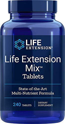 Life Extension Mix Tablets, 240 tabs 02355
