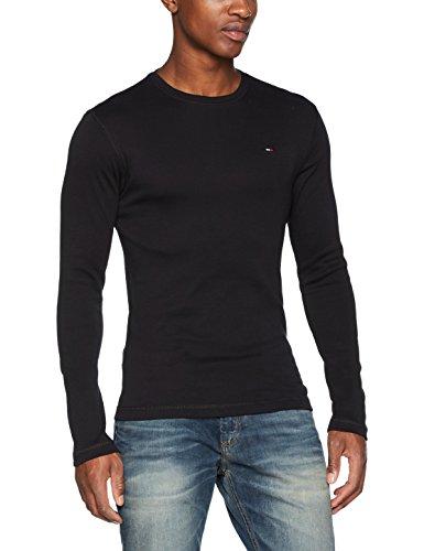 Tommy Jeans Negro Camiseta Slim Fit de manga larga A estrenar y genuina. Somos un vendedor autorizado de Tommy Jeans. Ver descripción del producto para obtener más información.