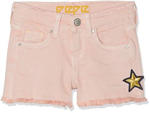 Pepe Jeans Pepe Jeans Mädchen Elsy Short Sunny Badeshorts, Pink (Spritzer 324), 11-12 Jahre (Herstellergröße: 12)