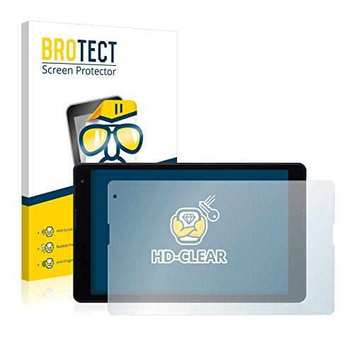BROTECT Schutzfolie kompatibel mit Medion Lifetab P10400 (MD 99775) (2 Stück) klare Bildschirmschutz-Folie