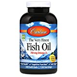 Carlson - The Very Finest Fish Oil, 700 mg Omega-3s, Norwegian Fish Oil Supplement, Wild Caught Omega 3 Fish Oil, Sustainably Sourced Fish Oil Capsules, Omega 3 Supplement, Lemon, 240 Softgels