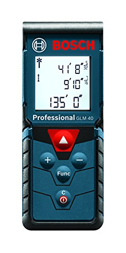 Bosch Laser Measure, 135 Feet GLM 40 (Discontinued by Manufacturer)