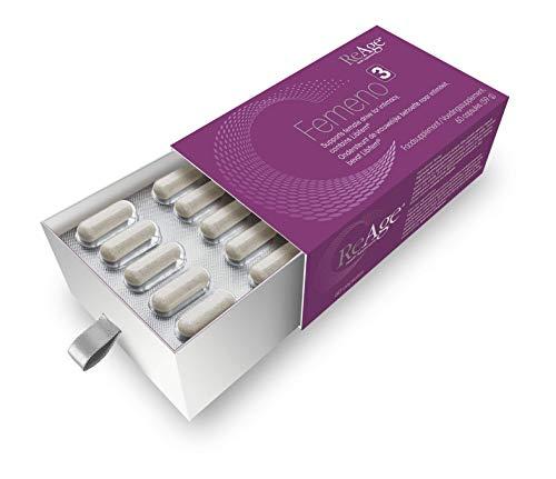 ReAge Femeno 3 - Premium Happy Mood Enhancer - Kruiden Supplement met Maca wortel, Fenegriek extract en Tribulus Terrestris Ondersteunt een Positieve Gemoedstoestand en de Behoefte aan Intimiteit - 60 capsules