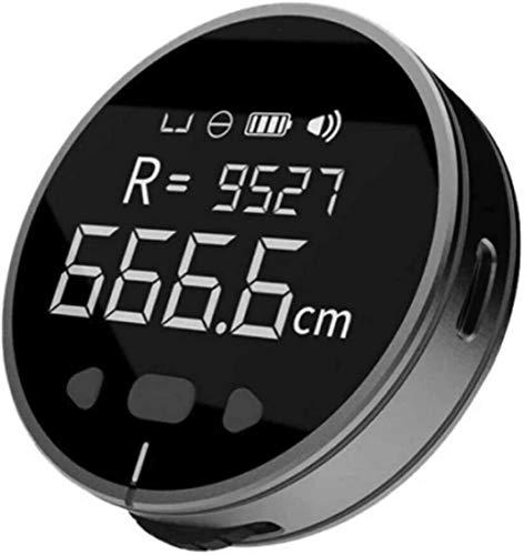 Flexímetro digital, telémetro portátil, cinta métrica electrónica, regla electrónica multifuncional con pantalla digital de medición rodante