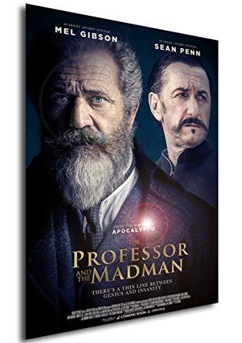 Instabuy Poster - Locandina - Il Professore e Il Pazzo - The Professor And The Madman A3 42x30
