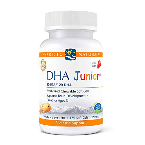 Nordic Naturals Pro DHA Junior, Strawberry - 180 Mini...
