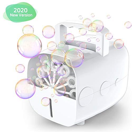 Theefun Máquina de Burbujas automática Dispensador de Burbujas por...