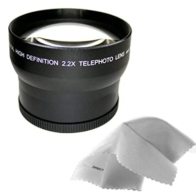 2.2X High Definition Telephoto Conversion for Sony Cyber-Shot DSC-RX10 III from Digital Nc