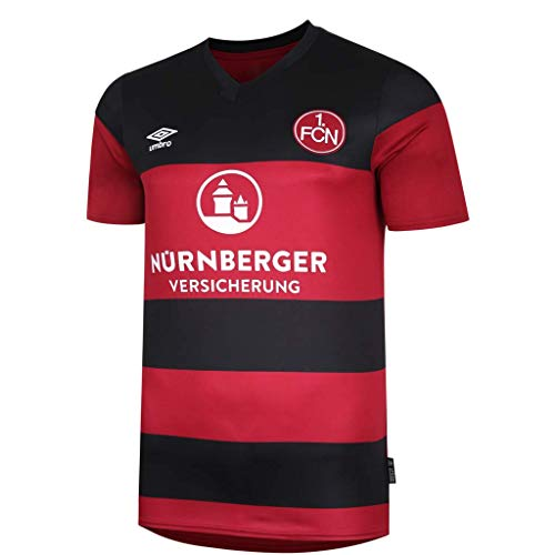 UMBRO 1. FC Nürnberg Trikot Home 20/21 (3XL, red/Black)