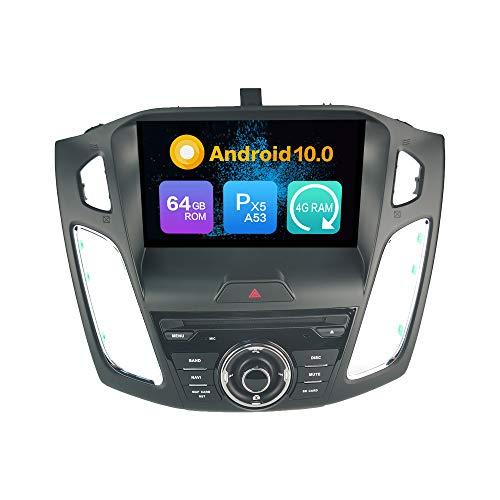 Android 9.0 Estéreo DVD Ram 4G 64G ROM Autorradio GPS Navegación Radio porFord Focus (2014-2018)