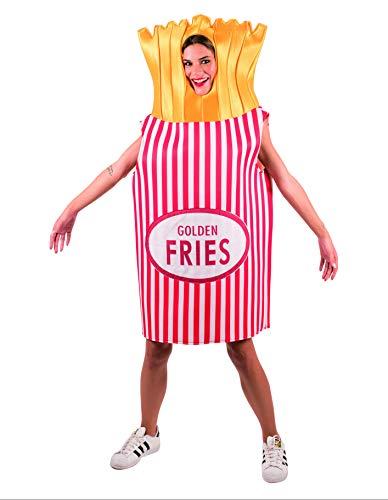Party Fiesta Disfraz De Patatas Fritas para Adulto