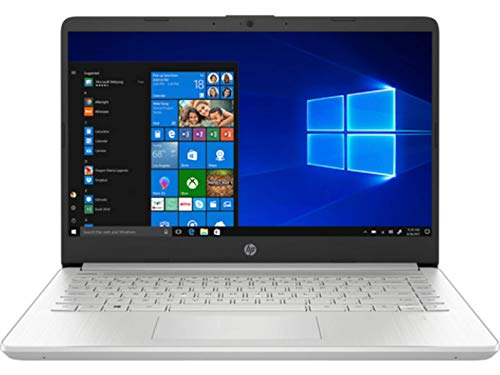 "HP 14s-dq1040ns - Ordenador portátil de 14"" FullHD (Intel Core i3-1005G1, 8GB RAM, 256GB SSD, Intel UHD Graphics, Windows 10 Home) plata - Teclado QWERTY Español"