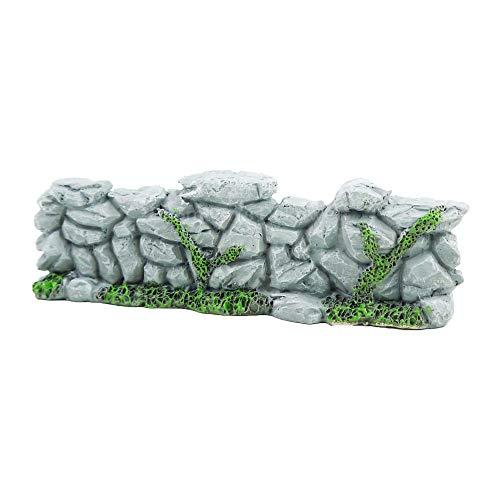 Bloom 'its Fairy Garden Rock Wand Mini-Garten Steinmauer grau Minigarten Mini Garten Miniatur Deko