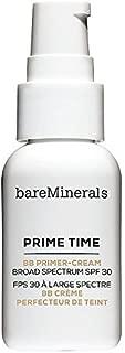 bareMinerals Prime Time BB Primer-Cream Daily Defense SPF 30, Medium, 1 Ounce