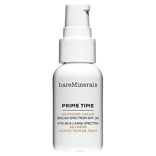 bareMinerals Prime Time BB Primer-Cream Daily Defense SPF 30, Medium, 1 Ounce
