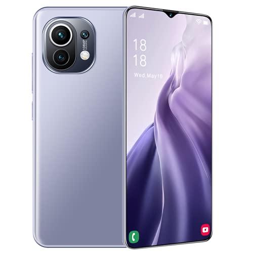 LIZONGFQ M11 Ultra 6.7 Pulgadas Smartphone 4g 5g Desbloqueo 32MP + 50MP 16GB + 512GB 6800mAh teléfonos móviles Telefon Smartphone Versión Global,Púrpura