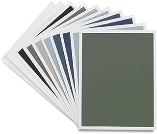 Australian Grey 12.5x9.75 inch Sheet Colourfix Sanded Pastel Paper