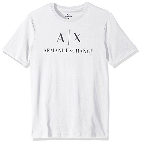 ARMANI EXCHANGE 8nztcj T-Shirt, Bianco (White 1100), XX-Large Uomo
