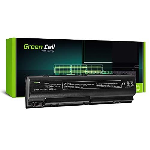 Green Cell Standard Series HSTNN-DB17 HSTNN-IB09 HSTNN-OB17 Battery for HP G3000 G5000 Pavilion DV1000 DV4000 DV5000 Laptop (6 Cells 4400mAh 10.8V Black)
