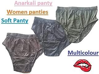 Women Panties Panty Anarkali Soft Panty Multicolour (Pack of 3)