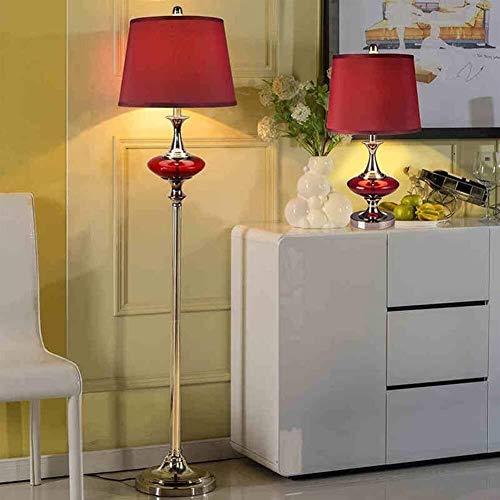 QIDOFAN Lámpara de pie Piso las luces de noche luces verticales Estudio Europeo Moderno dormitorio creativo estadounidense lámparas de pie, Incluye bombilla