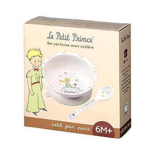 Petit Jour Paris - Schale mit Saugboden und loëffel Der Klein Prinz - Perfekt für das Frühstück - PP702WP