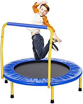 Ancheer 36 Inch Kids' Trampoline with Safety Handrail