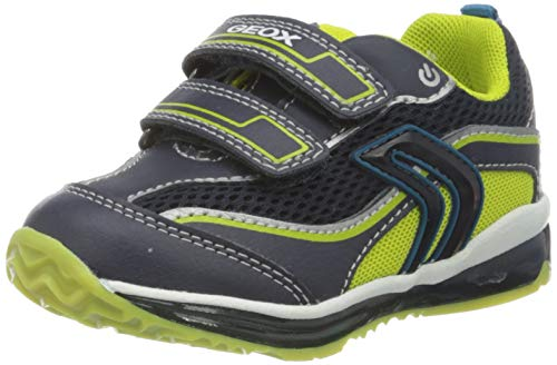 Geox Jungen B TODO Boy A Sneaker, Blau (Navy/Lime C0749), 25 EU