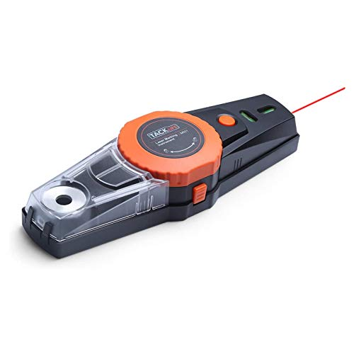 Livella laser, TACKLIFE MI01 Strumento di marcatura laser 9 M e 360 Gradi, Pompa ad aria incorporata, Due livelli di bolle con retroilluminazione, Scatola della polvere