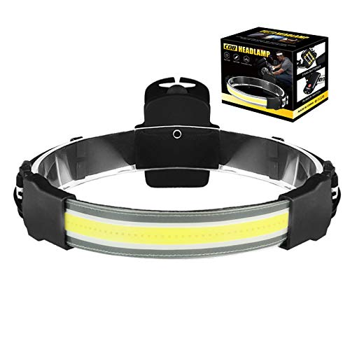 YooHome Linterna Frontal LED,IPX4 Impermeable,Mini Frontal LED para Correr, Acampar, Pescar, Ciclismo, Camping, Niños(3 Pilas AAA Not Incluidas)