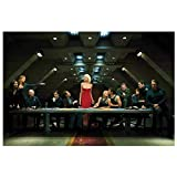 Kingm Battlestar Galactica Last Supper Wall Art Posters Hd Print Photo Canvas Painting Home Living Room Decor Pictures (23.62X35.43 in) 60X90 cm Frameless