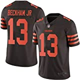JUNBABY Maillot De Rugby, Cleveland Browns 13# Beckham Jr, Jeu De Foot T-Shirt Homme Gamins GarçOns-Black-S