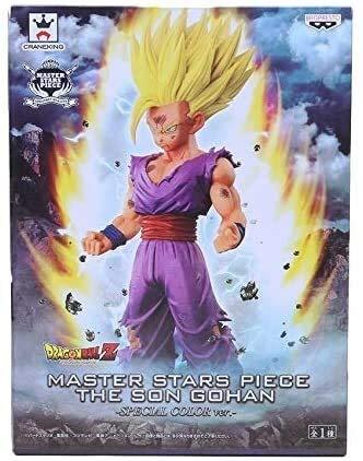 QI-shanping Dragon Ball Z Master Stern Stück MSP Der Sohn Gohan PVC Action-Figur Sammler Modell Spielzeug, Blaue Gürtel OPP Beutel, Karikatur Farbe im Kasten (Color : C)