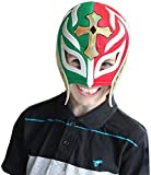 REY MISTERIO Youth Lucha Libre Wrestling Mask (Kids- Fit) 4 to 7 y/o Kids Wrestling Mask - Luchador Mask Kids by Make It Count