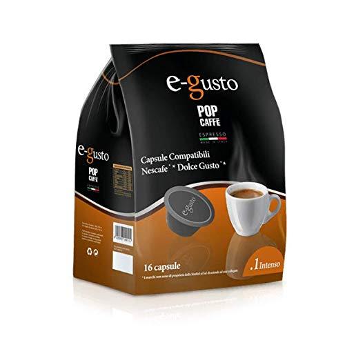 160 Capsule compatibili Nescafè Dolce Gusto Intenso Pop Caffé