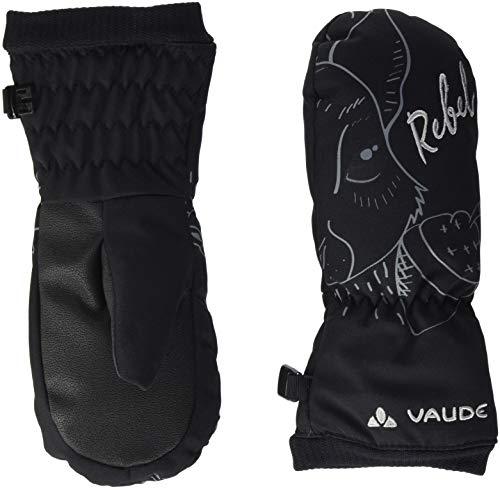 VAUDE Small Gants III Mixte Enfant, Black, FR : L (Taille Fabricant : 5)