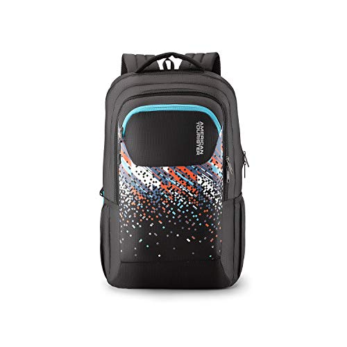 American Tourister Crone 29 Ltrs Black Casual Backpack (FG8 (0) 09 207)