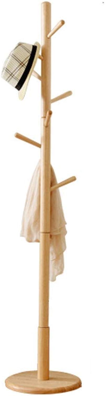 XINGZHE Coat Rack - European Creative Simple Coat Rack, Floor Hangers, Bedroom, Hall Solid Wood Hangers Coat Rack (color   A)