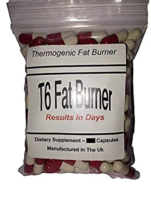 T6 Fat Burners x 120 Capsules - Max Strength | T5 Wild Weight Loss Strength, Raspberry Fruit Extract - Weight Loss Capsules | Helps Shed Fat for Men and Women | x 120