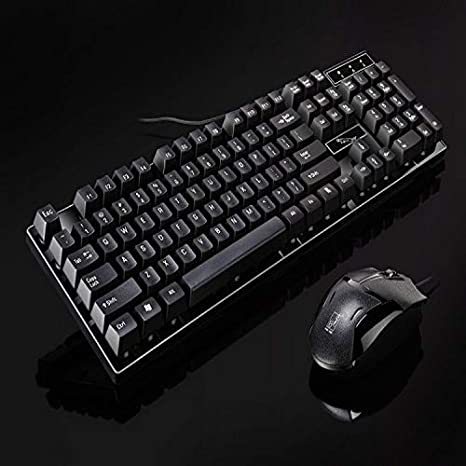 Color : Black EXTR ANT Office Home Laptop USB Keyboard USB Mouse