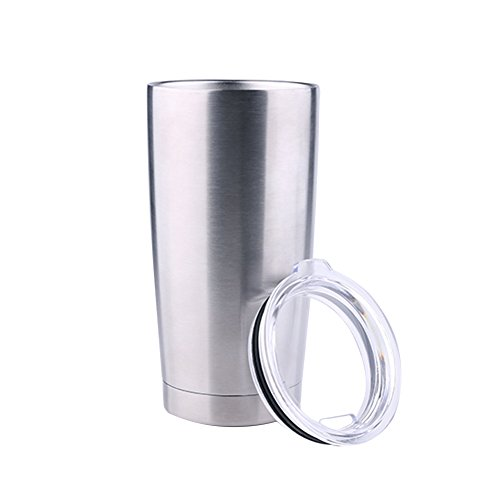 Asenart Stainless Steel Tumbler, Double Wall Vacuum Insulated Tumbler Cup, Keeps Cold or Hot with Spill-Proof Lid, Best For Your Kitchen and Garden, Travel and Leisure Needs 600ML