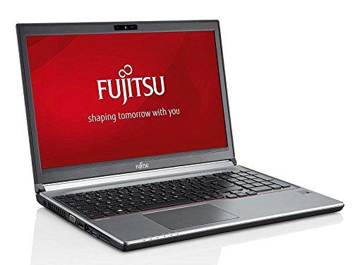 Fujitsu Lifebook E754 15,6 Zoll 1920x1080 Full HD Intel Core i3 256GB SSD Festplatte 8GB Speicher Windows 10 Pro Webcam Business Notebook Laptop (Zertifiziert und Generalüberholt)