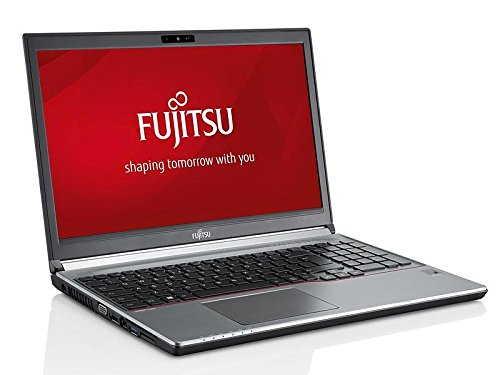Fujitsu Lifebook E754 15,6 Zoll 1920x1080 Full HD Intel Core i3 256GB SSD Festplatte 8GB Speicher Windows 10 Pro Webcam Business Notebook Laptop (Zertifiziert und Generalüberholt)