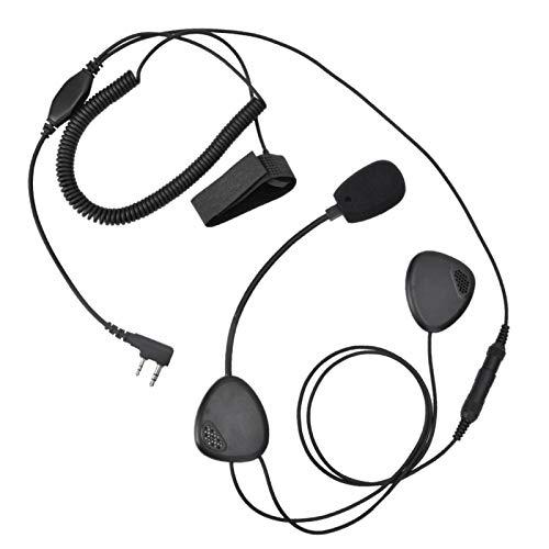 Confiable Durable Práctico Estable Auricular Auricular Longitud de línea Suficiente Ligero para Motocicletas Piloto Deportivo