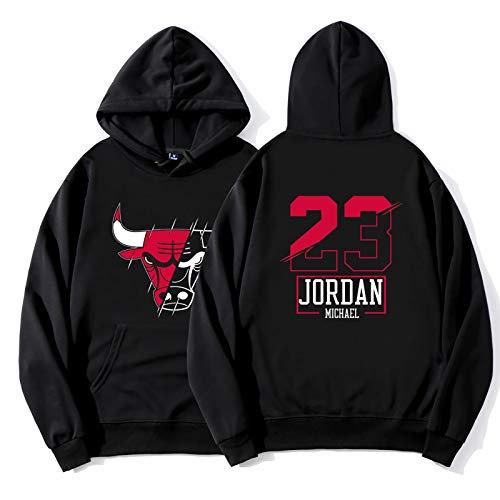 felpa jordan uomo Michael Jordan No.23 Ultime Pullover con Cappuccio