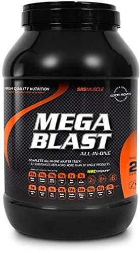 SRS Muscle - Mega Blast XL, 1.900 g, Red Berry | Complete All-in-one Master Stack | ersetzt über 20 Einzelprodukte | deutsche Premiumqualität
